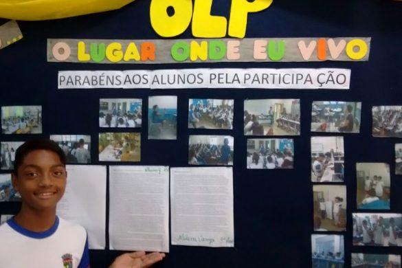 Alunos representam Linhares na fase estadual da Olimpíada de Língua Portuguesa