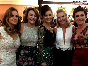 Gorete Giuberti, Odete Tessarolo, Claudia Castro Alves, Delma Brandão e Rilma de Sousa, só gente bacana
