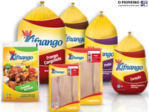 Linha Kifrango de produtos
