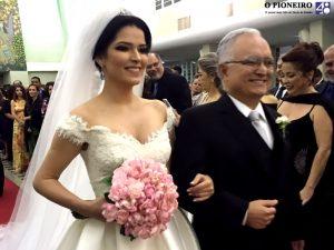 Mariana Soeiro Rocha com o pai, Jairo Rocha
