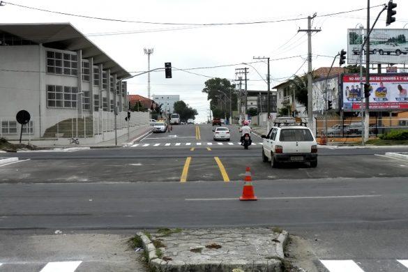 Mudança de trevo gera aumento de despesa para empresa de transporte em Linhares BR-101 Trevo Estadual