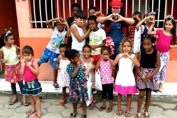 Programação especial para o Dia das Crianças no bairro Movelar em Linhares